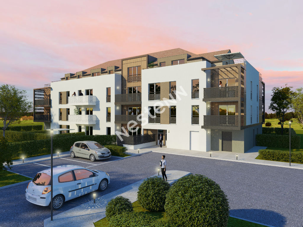 Appartement Vemars 3 pièce(s) 49.90 m2